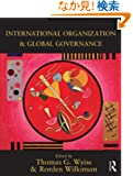 International Organization and Global Governance