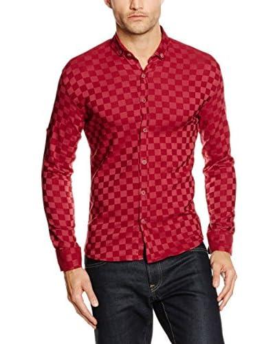 Philip Loren Camisa Hombre Rojo