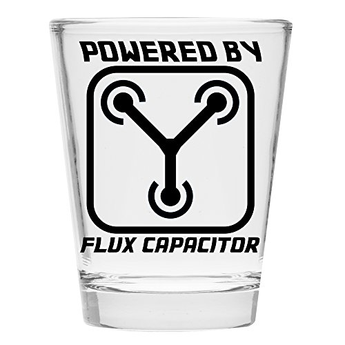 Shot Glass - Flux Capacitor