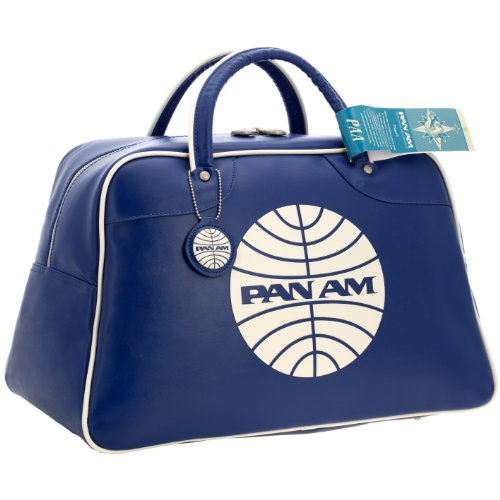 Pan Am Explorer Blue Vintage Travel Bag