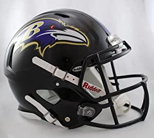 Buy BALTIMORE RAVENS NFL Riddell Revolution SPEED Football Helmet by www.realhelmets.com