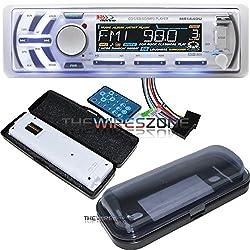 See Boss Audio MR1440U 240W Marine MP3/CD AM/FM Receiver w/ USB/SD/AUX Input + Cover Details