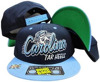 North Carolina Tar Heels Two Tone Plastic Snapback Adjustable Plastic Snap Back Hat... by Top of the World