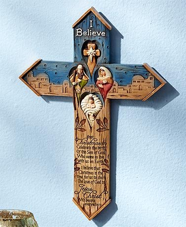 I Believe Gift Collection (Wall Cross)
