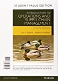 img - for Introduction to Operations and Supply Chain Management, Student Value Edition Plus MyOMLab with Pearson eText -- Access Card Package (4th Edition) book / textbook / text book