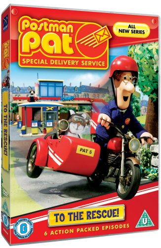 Postman Pat Special Delivery Service - Pat to the Rescue [DVD]