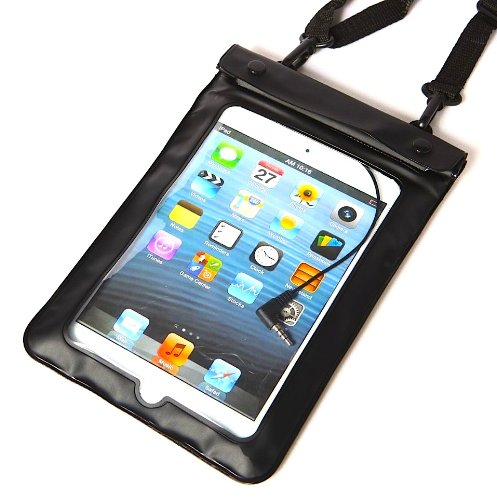 Axstyle 高品質 水深10M スタイリッシュ 防水ケース Waterproof case for iPad mini Ratina / iPad mini /新型 Nexus7 ストラップ付属 オリジナルモデル
