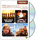 TCM Greatest Classic Films Collection: Western Adventures (The Wild Bunch / McCabe &#038; Mrs. Miller / Jeremiah Johnson / The Train Robbers)