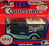Kansas City Royals 1991 Matchbox MLB Diecast Ford Model A Truck White Rose Collectible Toy Car 1:64 Scale
