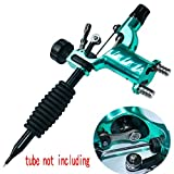 Tattoo Machine,New Star Dragonfly Rotary Tattoo Machine Shader & Liner 7 Colors Assorted Tatoo Motor Gun Kits Supply For Artists(tube not including)(Green)