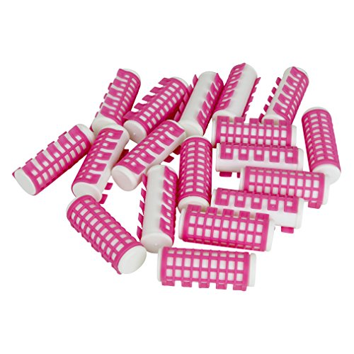 18 Heated Hair Curlers - Simple Effective Advanced Hold - Pink (23mm Diameter) (Items And Boiling Water compare prices)