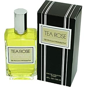 Tea Rose By Perfumers Workshop For Women. Eau De Toilette Spray 4 Ounces