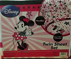 Disney Minnie Mouse Microfiber Twin Sheet Set at Sears.com
