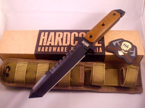 Hardcore Hardware Australia Bfk01-G Big Dog Survival Knife Coyote G-10