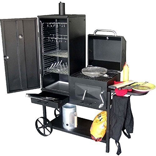syntrox germany smoker bovini 2 barbecue bbq grill. Black Bedroom Furniture Sets. Home Design Ideas