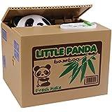 Amurleopard Elektronische Spardose Schwein/Panda im Korb
