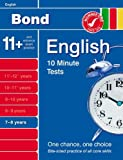 Sarah Lindsay Bond 10 Minute Tests English 7-8 years (7-8 Yrs)