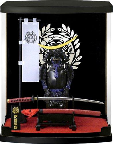 「伊達政宗」 戦国武将ミニ甲冑フィギュア1