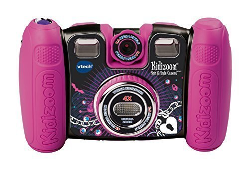 VTech Kidizoom Spin and Smile Camera - Violet Pink (Kids Cameras Digital compare prices)