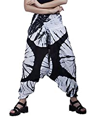 Indi Bargain Tie Dye Printed Alibaba Cotton Afghani Trouser