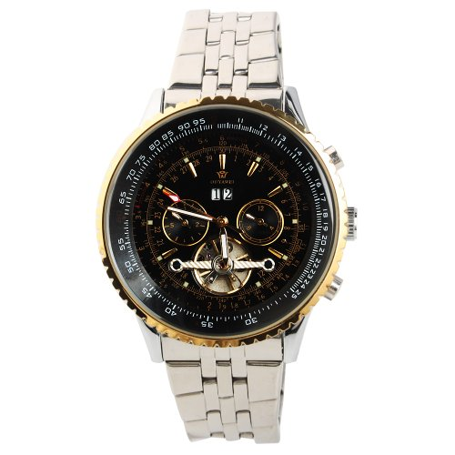 Yesurprise New Fashion Luxury Men Stainless Steel Automatic Mechanical Wrist Watch for Graduation Party Gift Trendy #2