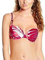 Chantelle Sujetador de Bikini Cap Verde (Frambuesa / Blanco)