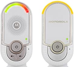 Motorola MBP8 - Vigilabebés audio, color blanco