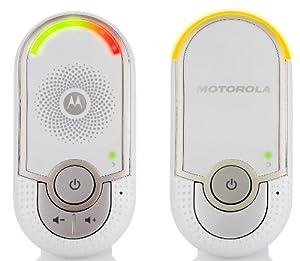 Motorola MBP8 écoute-bébé Digital Plug'n Go, portée de 50 mètres