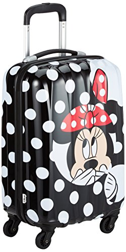 American Tourister Disney Legends Spinner 55/20 Valigia, 32 Litri, Minnie Dots