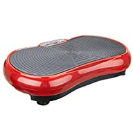 Pinty Mini Crazy Fit Vibration Plate – Full Body Shaper Massage Machine