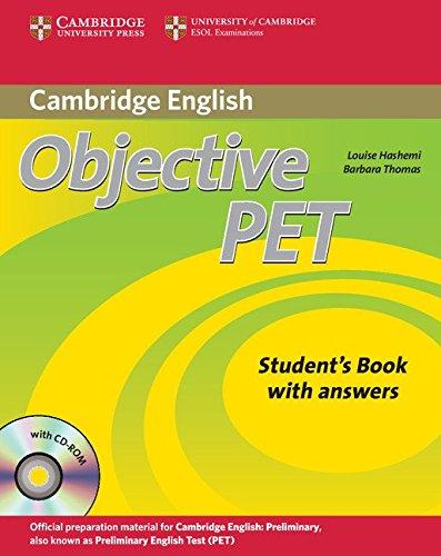 Objective Pet. Student's book. With answers. Per le Scuole superiori. Con CD Audio. Con CD-ROM