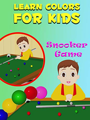 Learn Colors For Kids - Snooker Game on Amazon Prime Video UK