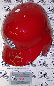 David Freese Hand Signed St. Louis Cardinals Full Size Authentic Helmet - PSA DNA -... by Sports+Memorabilia