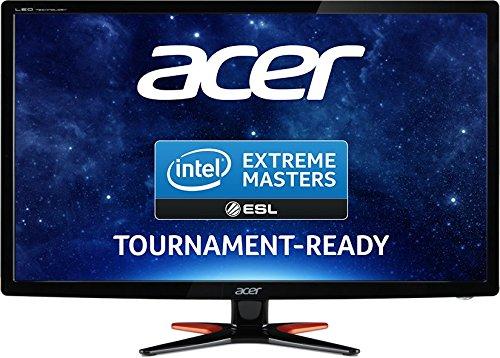 """Acer GN246HLBbid - Monitor 24"""" LED Full HD, Risoluzione 1920 x 1080, Contrasto 100M:1, Luminosità 350 cd/m2, Nero"""