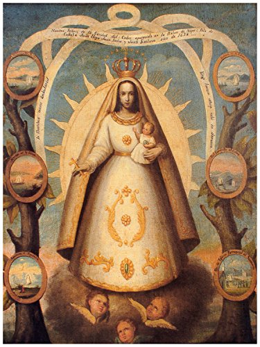 Quality poster in Paper or Canvas.Virgen de la Caridad del Cobre.XVI century ... (Caridad Restaurant compare prices)
