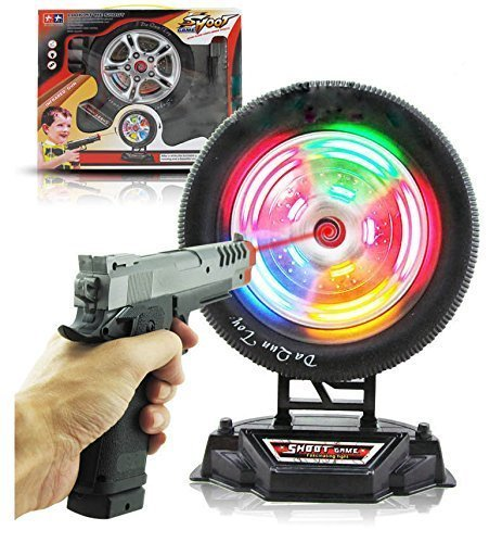Mallya Infrared laser wheel Electronic Target Shooting Gun Set (Kids Gun Target compare prices)