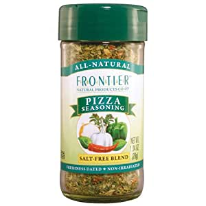 Frontier Pizza Seasoning, 1.04-Ounce Bottles (Pack of 3)