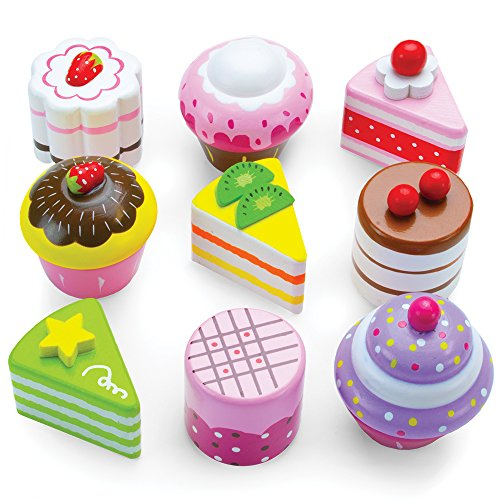 Wood Eats! Delectable Desserts Petit Fours (9pcs.) by Imagination Generation (Ice Cream Cake Food compare prices)