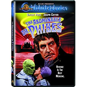 Click to buy Scariest Movies of All Time: The Abominable Dr. Phibes/Dr. Phibes Rises Again! from Amazon!