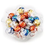 Each Box Contains 40 Milk, 40 Dark, & 40 White, lindt truffles individualy wrapped in a Reusable Gift Box total 120 count