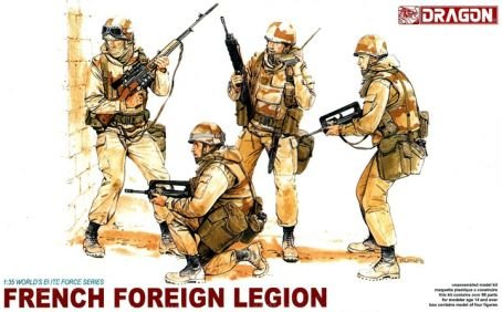 DML3014 1:35 Dragon French Foreign Legion Figure Set [MODEL BUILDING KIT]