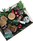 Weihnachtskorb von eat Performance (Bio, Paleo, Geschenk-Set, Gebäck und Schokolade ohne Zucker, glutenfrei, laktosefrei, superfood)