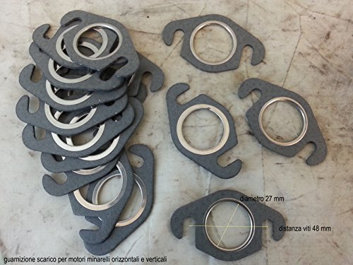 Joint de pot d'échappement pour moteurs minarelli oriz % 2Fvert. f. 10-12-15-nitro-sr