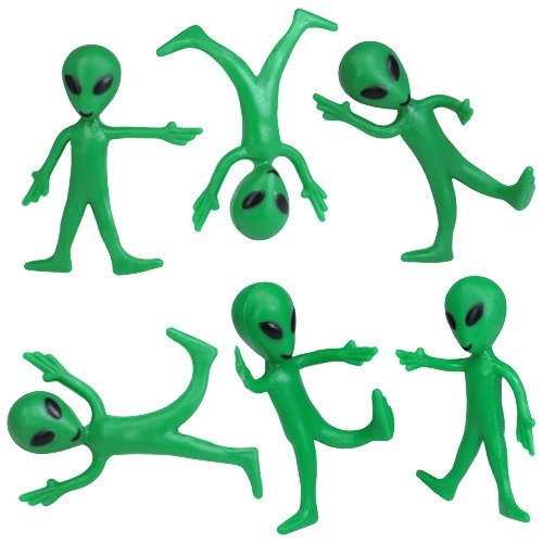 Bendable Alien Toys (1 dz)