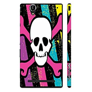 Sony Xperia T2 Colourful Danger designer mobile hard shell case by Enthopia