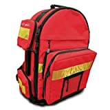 "Primacare KP-4183 Trauma Back Pack, 17"" Length x 6"" Width x 19"" Height"