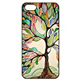 img - for Love Tree Iphone 5 5s Hard Back Shell Case Cover Skin for Iphone 5/5s Cases - Black/white/clear book / textbook / text book
