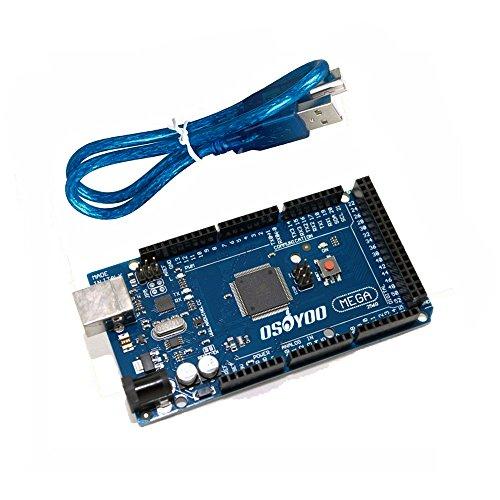 OSOYOO-MEGA2560-R3-Control-Board-ATMEGA2560-16AU-For-Arduino-Compatible-with-USB-Cable