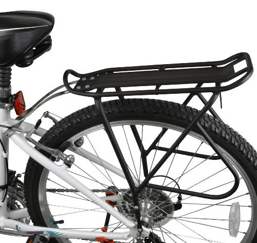 Buy Discount Ibera PakRak Bicycle Touring Carrier Plus+, Frame-Mounted for Heavier Top & Side Loads,...