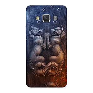 Hell Door Back Case Cover for Galaxy A3